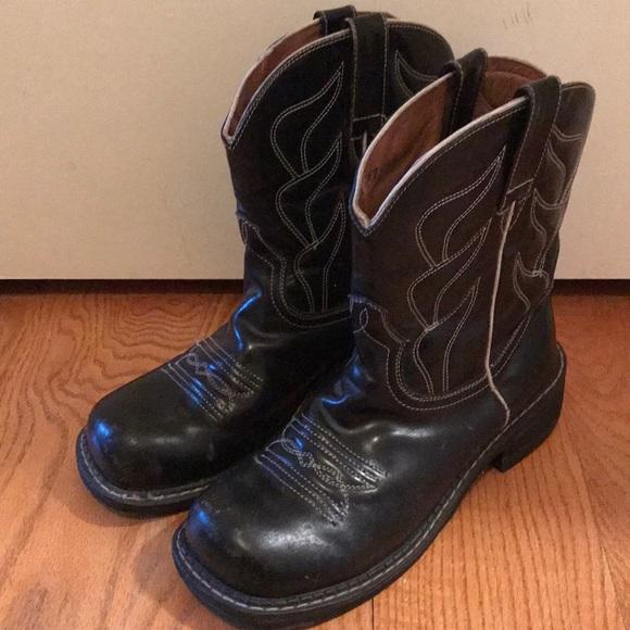 8ec08d9b93d John Fluevog Black Cowboy Boots